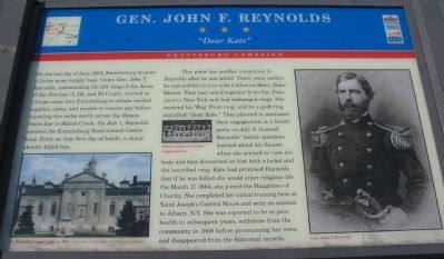 Gen. John F. Reynolds Marker Photo, Click for full size