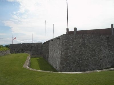 SW Bastion of Fort Ticonderoga image. Click for full size.