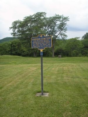 Marker at Fort Ticonderoga Photo, Click for full size
