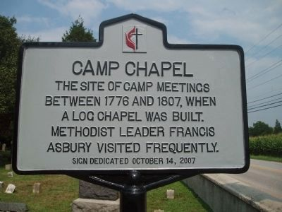 Camp Chapel Marker image. Click for full size.
