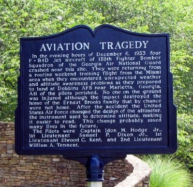 Aviation Tragedy Marker image. Click for full size.