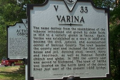 Varina Marker Photo, Click for full size