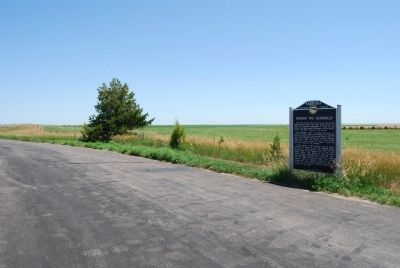 Opening the Sandhills Marker Photo, Click for full size