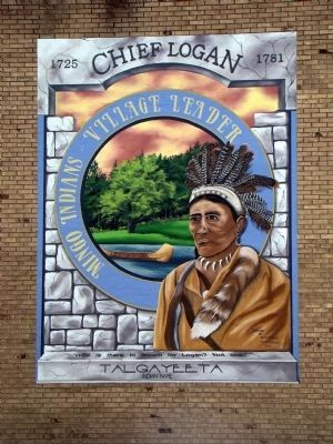 Chief Logan Mural by Sherry Gargiulo image. Click for full size.