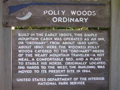 Polly Woods' Ordinary Marker Photo, Click for full size