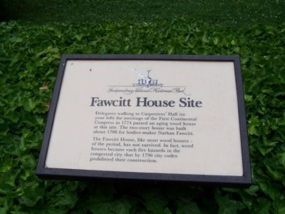 Fawcitt House Site Marker image. Click for full size.
