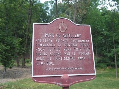 Park of Artillery Marker image. Click for full size.
