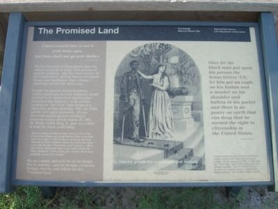 The Promised Land Marker image. Click for full size.