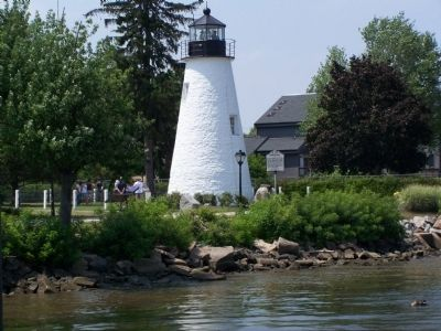 Havre de Grace Lighthouse image. Click for full size.