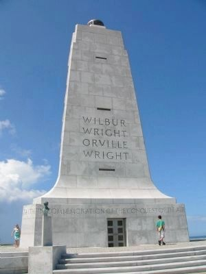 The Wright Brothers National Memorial image. Click for full size.