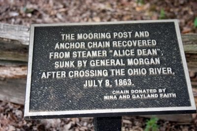 Mooring Chain - - - Marker Photo, Click for full size