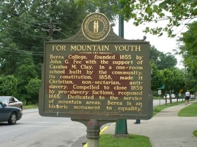 For Mountain Youth Marker image. Click for full size.