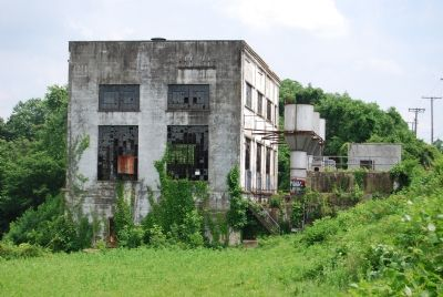 Abandoned Spotsylvania Electric Co. power plant image. Click for full size.
