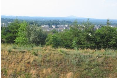 View from the site of Guilford Signal Station image. Click for full size.
