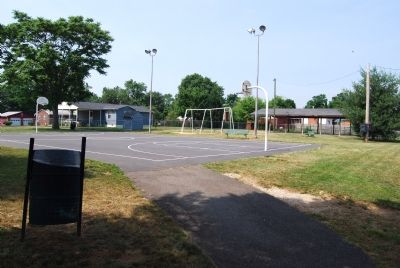 Mayfield Playground (Former site of Mayfield High School) image. Click for full size.