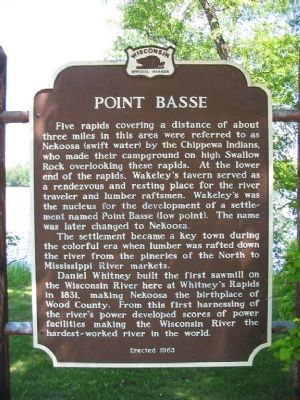 Point Basse Marker Photo, Click for full size