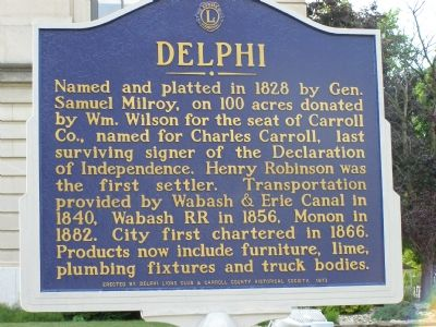 Delphi Marker image. Click for full size.