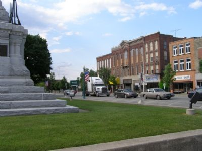 Downtown Delphi image. Click for full size.