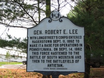 Gen. Robert E. Lee Marker Photo, Click for full size