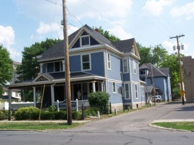 House located in the historic West Eighth Street District. image. Click for full size.