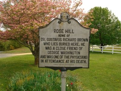 Rose Hill Marker Photo, Click for full size