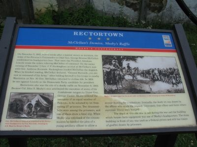 Rectortown Marker Photo, Click for full size