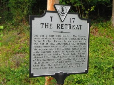 The Retreat Marker image. Click for full size.