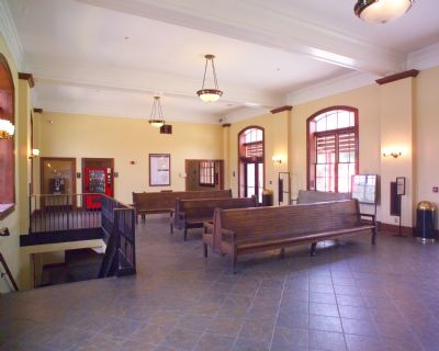 Caperton Station Waiting Room Photo, Click for full size