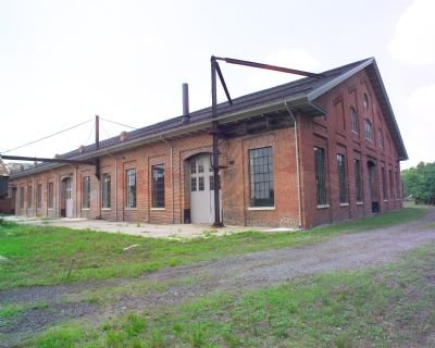 Shop Building Between East and West Roundhouses Photo, Click for full size