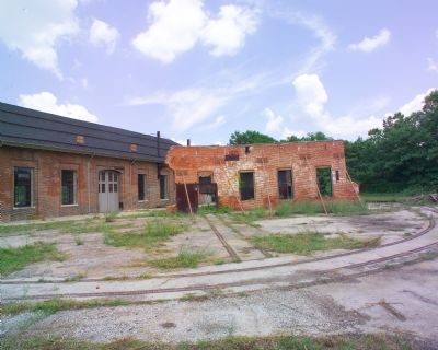 Ruins of East Roundhouse Photo, Click for full size