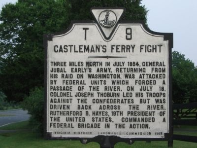 Castleman's Ferry Fight Marker image. Click for full size.