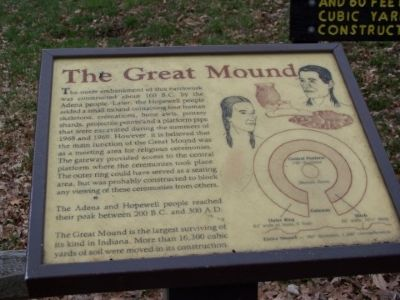 The Great Mound Marker Photo, Click for full size