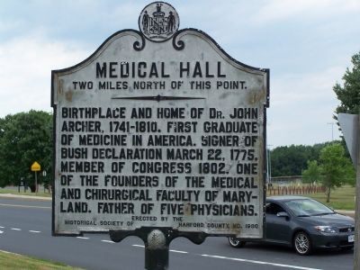 Medical Hall Marker image. Click for full size.