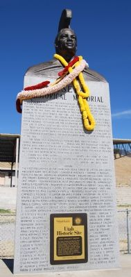 Iosepa Historical Memorial Marker image. Click for full size.