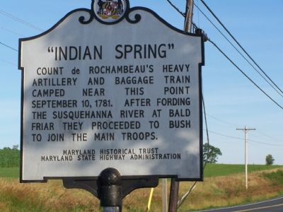 """INDIAN SPRING"" Marker image. Click for full size."