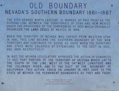 Old Boundary Marker image. Click for full size.