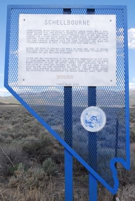 Schellbourne Marker image. Click for full size.