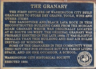 The Granary Marker image. Click for full size.