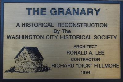 Plaque for construction image. Click for full size.