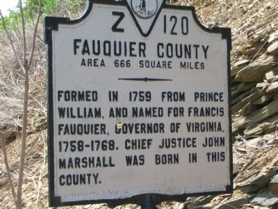 West Facing (Fauquier County) Side image. Click for full size.