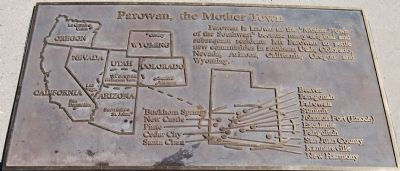 Parowan, the Mother Town Photo, Click for full size