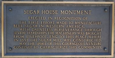 Sugar House Monument image. Click for full size.
