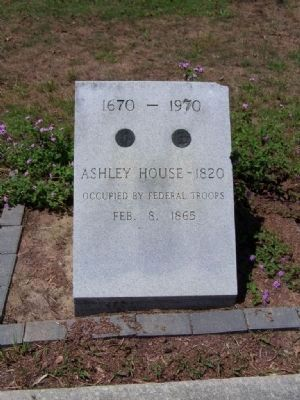 Ashley ~ Willis House Marker image. Click for full size.