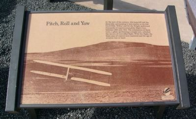 Pitch, Roll and Yaw Historical Marker