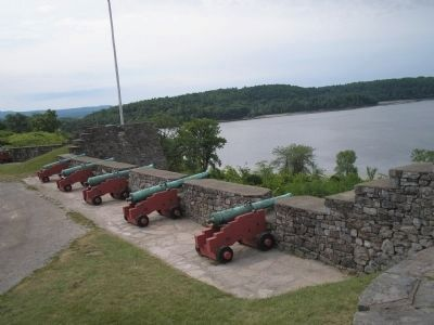 Artillery at Fort Ticonderoga image. Click for full size.