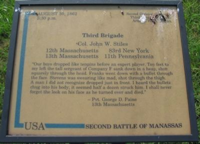 Third Brigade Marker image. Click for full size.