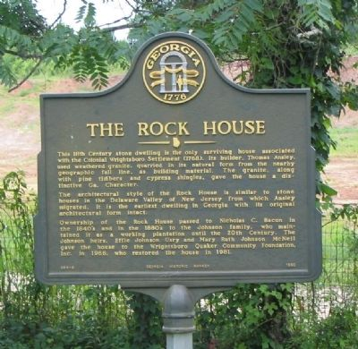 The Rock House Marker Photo, Click for full size