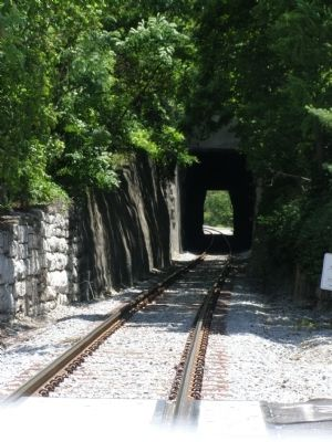 Early Tunnel in Kentucky Marker image. Click for full size.