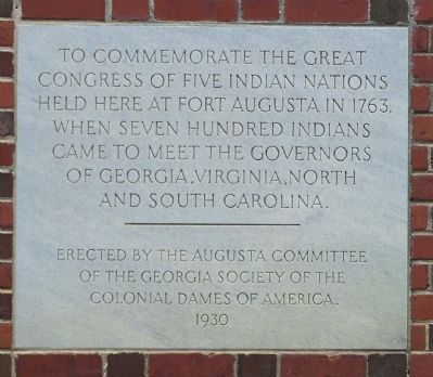 Five Indian Nations Marker image. Click for full size.