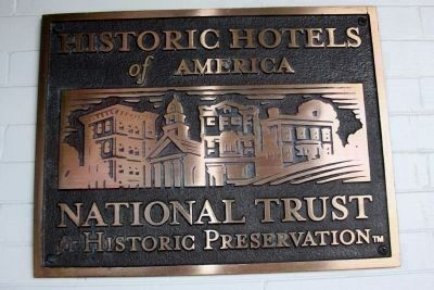 French Lick - Historic Hotels of America Marker image. Click for full size.